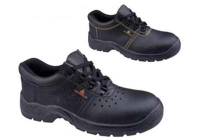 代尔塔 301509 老虎2代牛皮面安全鞋(同款301510)